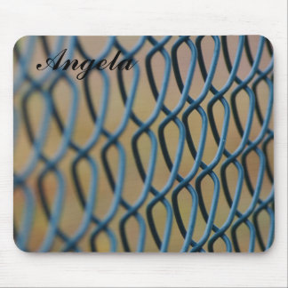 Chain mesh mousepad with name