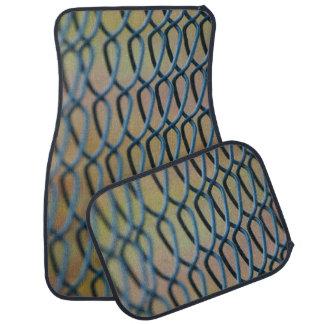 Chain mesh photo car mats floor mat