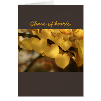 chain of hearts card