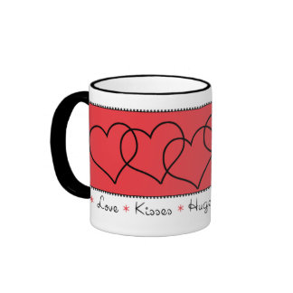 Chain of Hearts Valentine's Day Mug