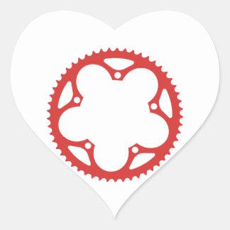 Chain Ring Heart Sticker