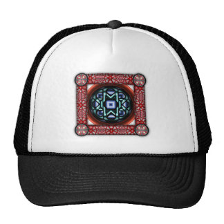 Chain Round Trucker Hats