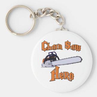 Chain Saw Hero Chainsaw Key Ring