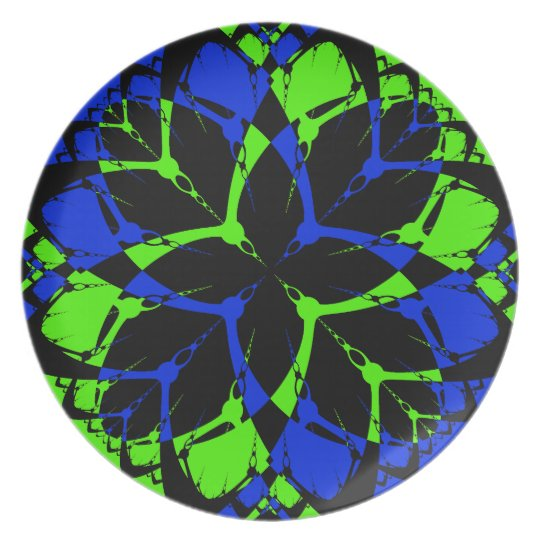 Chain Star #3 Melamine Plate