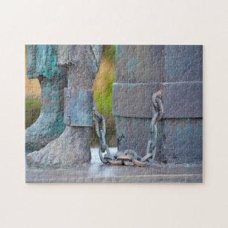 Chain Statue Guyana. Jigsaw Puzzle