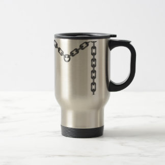 chain travel mug
