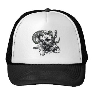 Chained Demon Mesh Hats