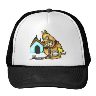 Chained Dog Mesh Hats