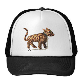 Chained leopard on many products cap