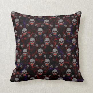 Chained Skulls Cushion