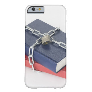 Chained stack of books barely there iPhone 6 case