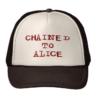 Chained to Alice Mesh Hat