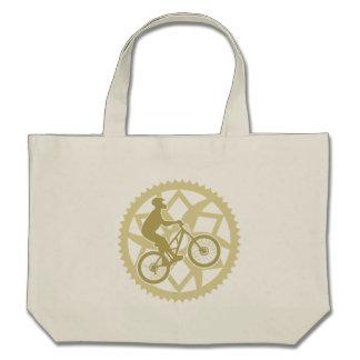 Chainring biker tote bags