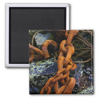 Chains Square Magnet