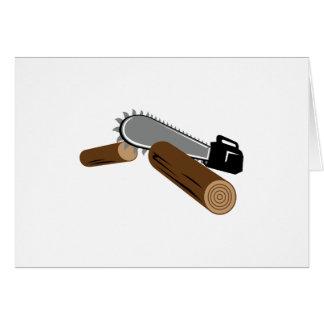 Chainsaw Card