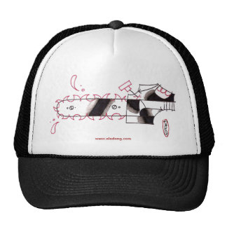chainsaw trucker hat