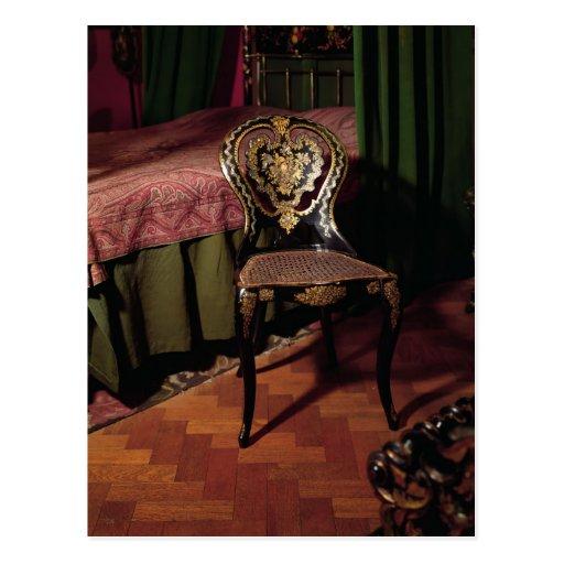 Chair, English, mid 19th century Postcard