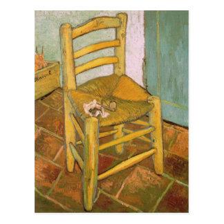 Chair of Van Gogh Postcard