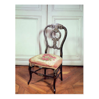 Chair, Second Empire Style Postcard
