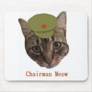 Chairman Meow Mouse Pad
