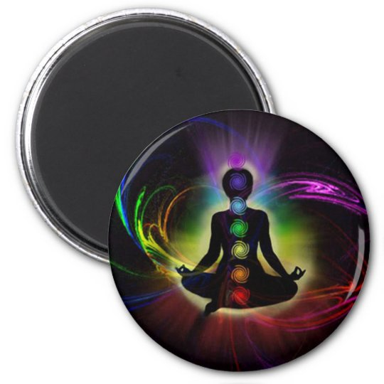 Chakra and Aura Colours Magnet