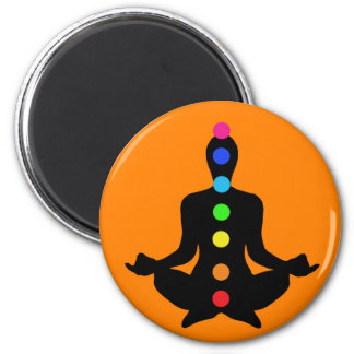 Chakra Art - Yoga Magnet