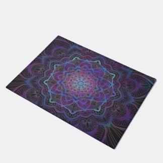 Chakra Blossom, boho, new age, spiritual Doormat