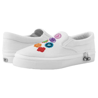 Chakra Custom Zipz Slip On Shoes