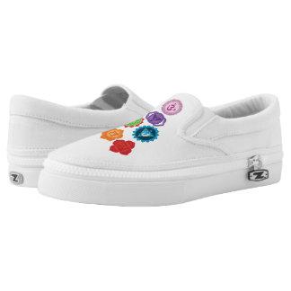 Chakra Custom Zipz Slip On Shoes Printed Shoes