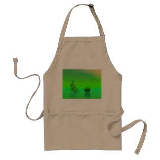 chakra green standard apron