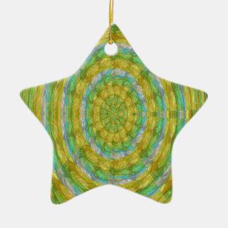 CHAKRA Green Wheel Crystal Beads Stone FUN GIFTS Christmas Tree Ornament