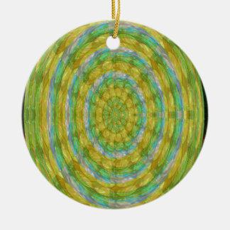 CHAKRA Green Wheel Crystal Beads Stone FUN GIFTS Christmas Ornament