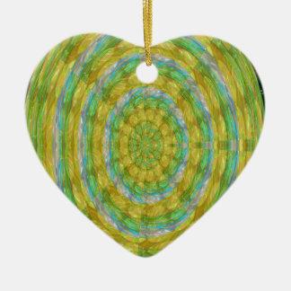 CHAKRA Green Wheel Crystal Beads Stone FUN GIFTS Ornaments