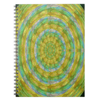 CHAKRA Green Wheel Crystal Beads Stone FUN GIFTS Notebooks