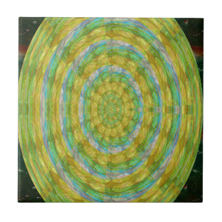 CHAKRA Green Wheel Crystal Beads Stone FUN GIFTS Tiles