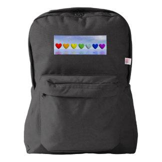 Chakra hearts - 3D render Backpack