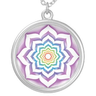 Chakra Lotus pendant necklace