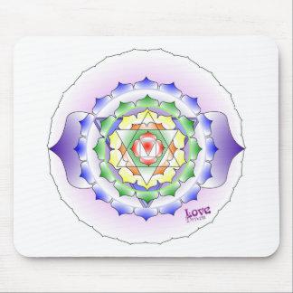 Chakra Mandala Mousepad
