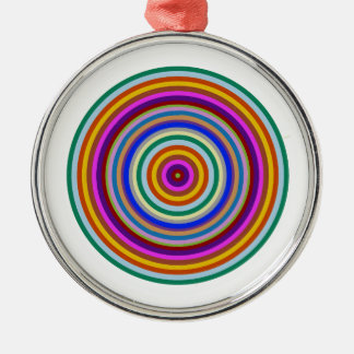 Chakra Meditation Focus Tool Silver-Colored Round Decoration