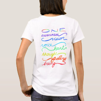 Chakra One Words Custom Art Clothing Shirt