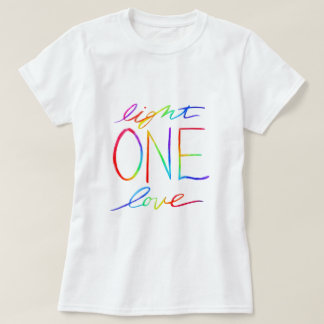 Chakra One Words Custom Art Clothing T-Shirts