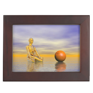 chakra orange keepsake box