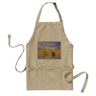 chakra orange standard apron