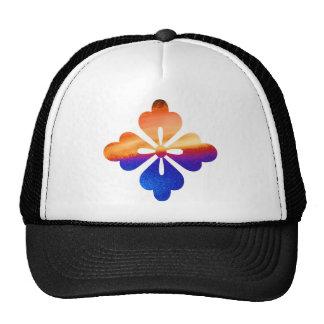 Chakra Round Graphic Flower Jewel Cap