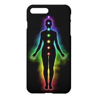 Chakra Silhouette Glossy iPhone 7 Plus Case