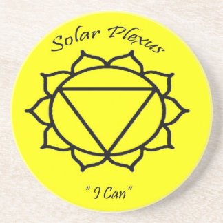 Chakra Solar Plexus coaster