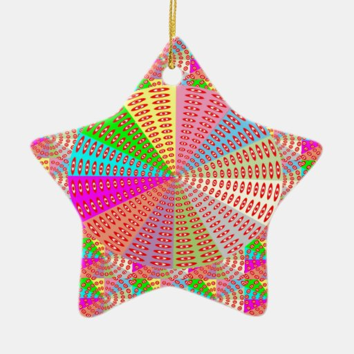 Chakra UNIQUE Round Circle  Artist NAVIN JOSHI Christmas Ornament