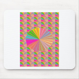 Chakra UNIQUE Round Circle  Artist NAVIN JOSHI Mouse Pad
