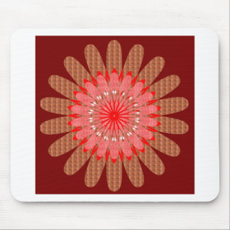 CHAKRA Wheel Illuminated Bright Colors Energy Heal Mouse Pads