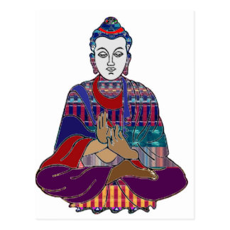 Chakra Yoga Meditation Masters Practic GIFT Postcard